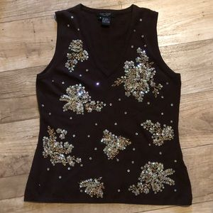 Sequined Blouse M ‼️